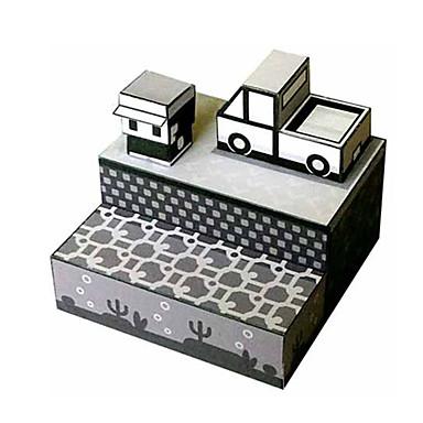 Quebra-Cabeças 3D Maquetes de Papel Artesanato de Papel Brinquedos de Montar Construções Famosas Arquitetura 3D Faça Você Mesmo Clássico