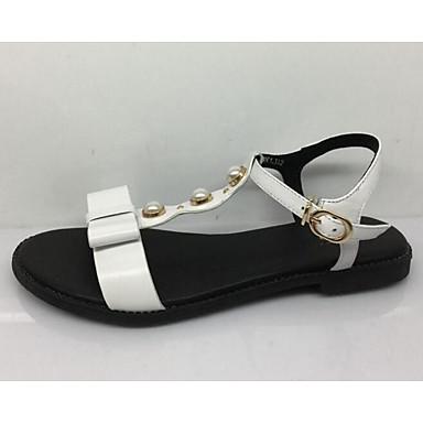 Women's Flat Comfort Summer Suede Casual White Black Flat
