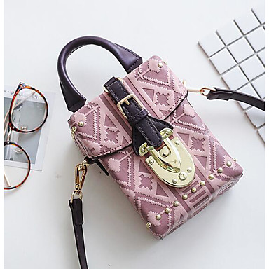 Women Bags All Seasons PU Shoulder Bag for Casual Outdoor Green Red Blushing Pink