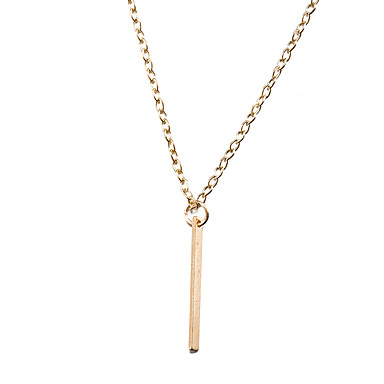 Women's Crossover Choker Necklace / Pendant Necklace - Gold Plated Personalized, Luxury, Geometric Gold Necklace For Christmas, Christmas Gifts, Party / Hypoallergenic