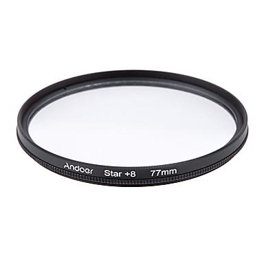 Andoer 77mm Filter Set UV  CPL  Star 8-Point Filter Kit with Case for Canon Nikon Sony DSLR Camera Lens