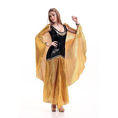 Dronning Eventyr Egyptiske Kostymer Cosplay Cleopatra Badedrakt/Kjoler Kvinnelig Festival/høytid Halloween-kostymer Halloween Karneval