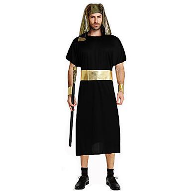 Superhelter Eventyr Romerske Kostymer Egyptiske Kostymer Cosplay Farao Cosplay Kostumer Party-kostyme Mann Festival/høytid