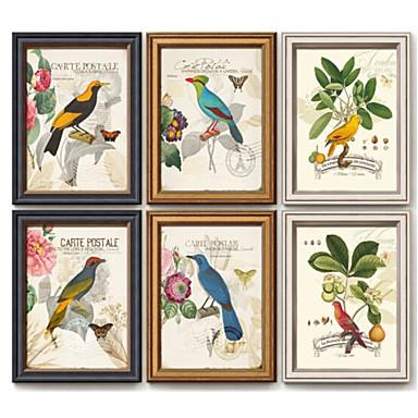 Pinturas a Óleo Emolduradas Paisagem Pintura de Óleo Arte de Parede, Acrílico Material com frame Decoração para casa Arte Emoldurada Sala
