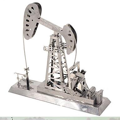 voordelige 3D-puzzels-3D-puzzels Legpuzzel Metalen puzzels Toren Beroemd gebouw Eiffeltoren Metallic Rauta Aluminium Kinderen Volwassenen Unisex Jongens Meisjes Speeltjes Geschenk