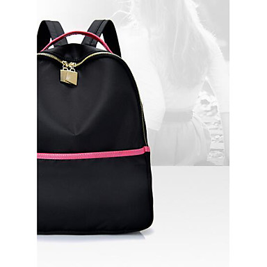 Women Bags Oxford Cloth Backpack for Casual All Seasons Black Gray
