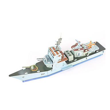 3D-puslespill Puslespill Modellsett Krigsskip Hangarskip Skip 3D GDS Høy kvalitet papir Klassisk Barne Jente Gutt Unisex Gave