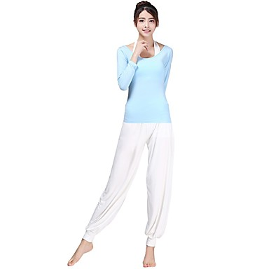 Yoga Clothing Suits Moisture Wicking Casual/Daily Sports Wear Yoga Pilates Dancing