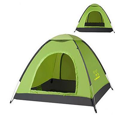 3-4 henkilöä Teltta Yksittäinen teltta Taitettava teltta Pidä lämpimänä Ultraviolettisäteilyn kestävä varten Retkeily ja vaellus