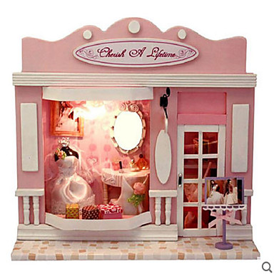 CUTE ROOM Model Building Kit DIY House Plastics Classic Elegant & Luxurious Pieces Unisex Gift