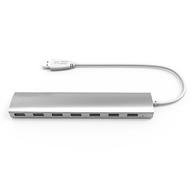 7 Portit USB-keskitin USB 3.0 Power Adapter Data Hub