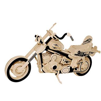 3D-puslespill Metallpuslespill Tremodeller Modellsett Moto GDS Naturlig Tre Klassisk Barne Voksne Unisex Gave