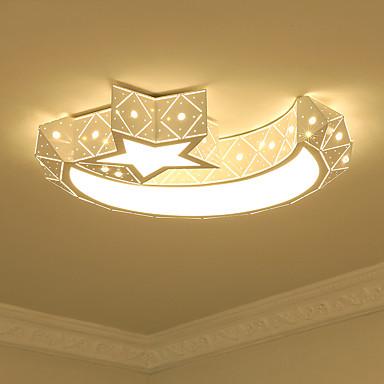 Flush Mount Ambient Light - Bulb Included, 110-120V / 220-240V, Warm White / White, LED Light Source Included / 10-15㎡ / LED Integrated