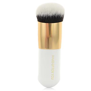 1pcs Pincéis de maquiagem Profissional Pincel para Base Pêlo Sintético Portátil / Viagem / Amiga-do-Ambiente Madeira Pincel Grande