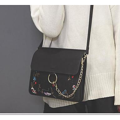 Women Bags PU Crossbody Bag for Casual Outdoor All Seasons White Black