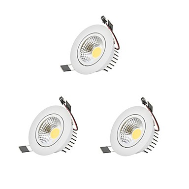 9W 1 LEDs Dimmable LED Downlights 110-220V Garage / Carport / Storage Room / Utility Room / Hallway / Stairwell