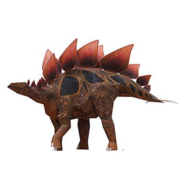 Quebra-Cabeças 3D Maquetes de Papel Brinquedos de Montar Quadrada Dinossauro Faça Você Mesmo Cartão de Papel Duro Clássico todas as Idades