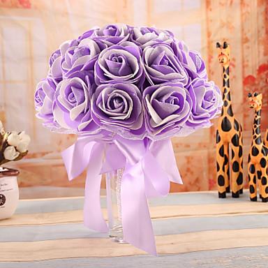 Bouquets de Noiva Buquês Casamento Faixa Elástica Espuma 8.66