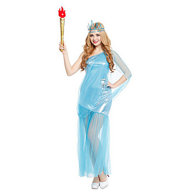 Fairytale Goddess Cosplay Cosplay Costumes Party Costume Women's Halloween Carnival Festival/Holiday Halloween Costumes Vintage