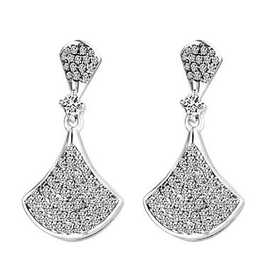 Women's Drop Earrings Cubic Zirconia Fashion Alloy Geometric Jewelry For Wedding Party Anniversary Festival
