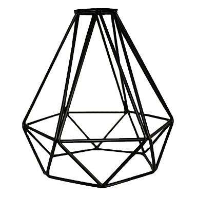 vintage ipari diy fekete fém madár ketrec lámpa árnyék világítás borító függeszték lámpák fali lámpák csere lámpa fedél