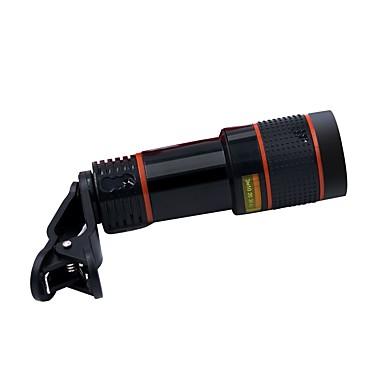hd 12-szeres optikai távcső kamera objektív szett halszem nagy látószögű 12x távcső univerzális csipesz optikai zoom objektív mikro