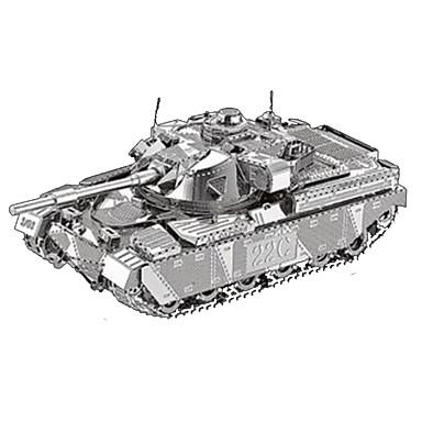 3D-puslespill Metallpuslespill Tank 3D Møbler artikler GDS Chrome Metall Klassisk Unisex Gave