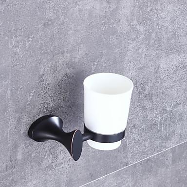 Suporte para Escova de Dentes Alta qualidade Neoclassicismo Metal 1 Pça. - Banho do hotel Montagem de Parede