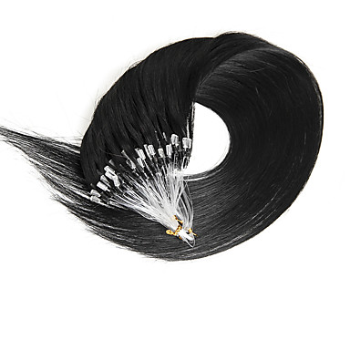 100s Micro Ring Human Hair Extensions  Real Remy Human Hair Extensions 0.4g/0.5g/s Supply U 40Gram/50Gram/SET