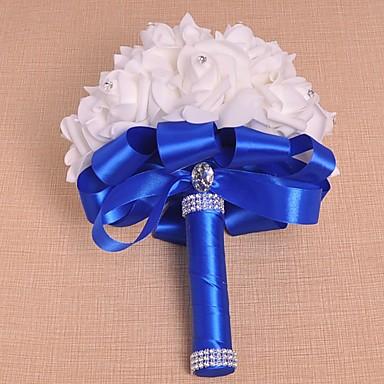 Wedding Flowers Bouquets Wedding Satin Foam 10.24
