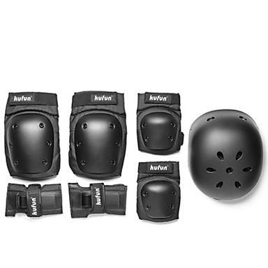Kids' Adult Protective Gear Knee Pads + Elbow Pads + Wrist Pads for Skateboarding Inline Skates Roller Skates Hoverboard Longboards Eases