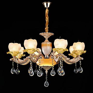 QINGMING® Tradicional / Clássico Lustres Luz Superior - Cristal Estilo Mini, 110-120V 220-240V Lâmpada Não Incluída