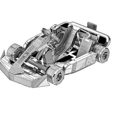 3D Puzzles Metal Puzzles Car 3D Furnishing Articles DIY Chrome Metal Classic Kid's Boys' Unisex Gift