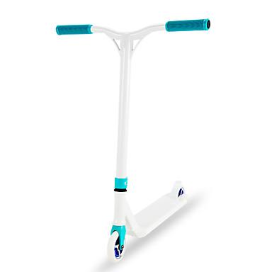 ราคาถูก สกู๊ตเตอร์,สเกตบอร์ดและโรลเลอร์-Stunt Scooter / Pro Scooter / Freestyle Scooter T4 / T6 Heat Treatment เชี่ยวชาญ, กราฟิกที่น่าสนใจ สีเขียวอ่อน อลูมิเนียม 6061