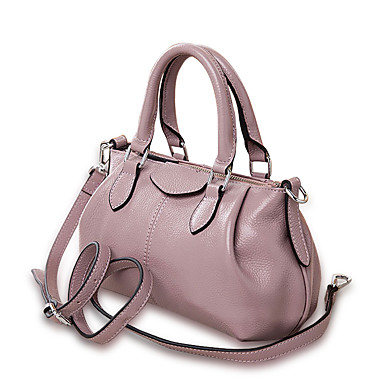 Women's Bags Cowhide Shoulder Bag Smooth Metal Chain Seamless Zipper for Wedding Event/Party Casual Formal Office & Career All Seasons