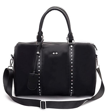 Women Bags All Seasons Canvas Oxford Cloth Travel Bag for Casual Outdoor Black