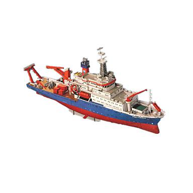 Quebra-Cabeças 3D Quebra-Cabeça Artesanato de Papel Brinquedos de Montar Navio 3D Simulação Faça Você Mesmo Clássico Unisexo Dom