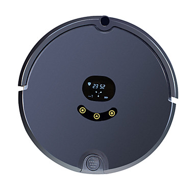 cheap Smart Robots-FENGRUI Robot Vacuum Cleaner FR-s Remote Control / RC Dry Mopping Wet Mopping Remote LED screen 2.4G Schedule Cleaning Combination Mode / Wet and Dry Mopping / Self Recharging / Avoids Falling