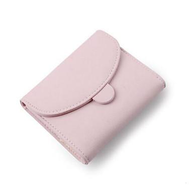 Women Coin Purse PU All Seasons Casual Outdoor Round Zipper Blue Black Blushing Pink