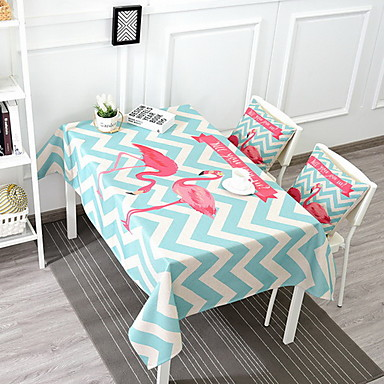 Cotton Blend Others Table cloths Printing Other Table Decorations