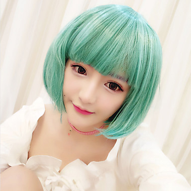 Lolita Wigs Sweet Lolita Dress Green Lolita Lolita Wig 30 inch Cosplay Wigs Wig Halloween Wigs
