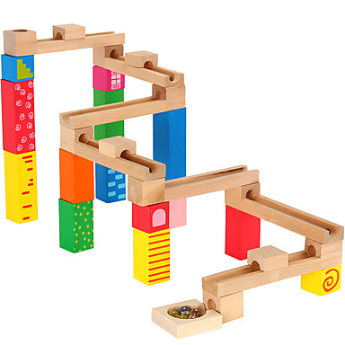 Marble Track Sets Toys 3D Wood High Quality 1 Pieces Kids Children's Day Christmas Gift