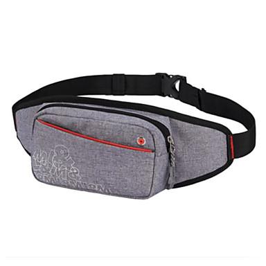 Men Bags All Seasons Oxford Cloth Sling Shoulder Bag for Casual Outdoor Black Gray