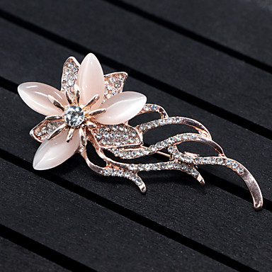 Women's Brooches - Flower, Animal Brooch Gold For Wedding / Party / Special Occasion