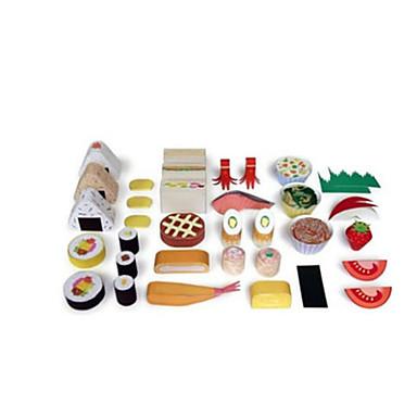 Quebra-Cabeças 3D / Comida de Brinquedo / Artesanato de Papel Comida realista / Segura Para Crianças / Faça Você Mesmo Plástico Clássico Crianças Unisexo Dom