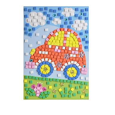 3D Puzzles Stickers Horse Diamond 3D DIY Crystal EVA Kid's Gift