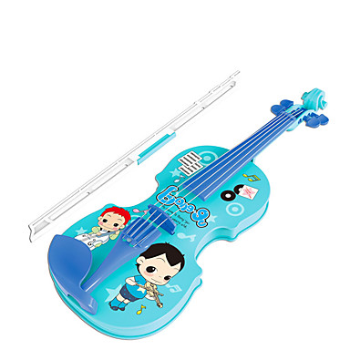 Acessório para Casa de Boneca Violino Instrumento Musical de Brinquedo Violino Instrumentos Musicais Simulação Crianças