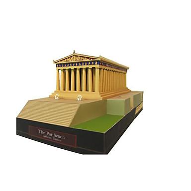 3D-puslespill Papirmodell Papirkunst Modellsett Kjent bygning Arkitektur GDS Klassisk Voksne Unisex Gave