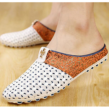 Women's Shoes Breathable Mesh Spring Summer Comfort Loafers & Slip-Ons For Casual Blue Dark Brown