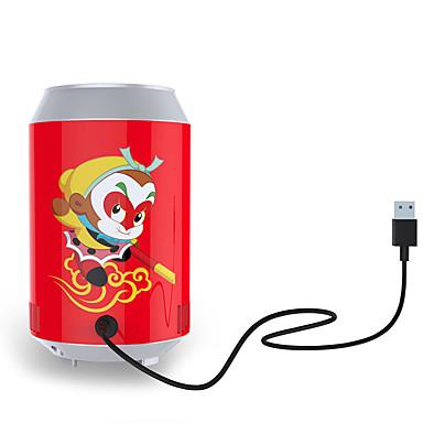 Kemin kannettava USB: n muotoinen viileämpi mini koksin jääkaappi juoma usb jäähdytys jääkaapissa lahja